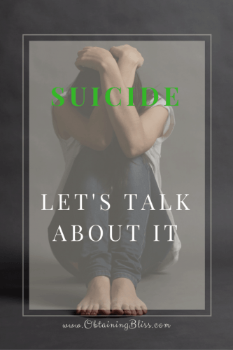 Suicide Let's Talk About It