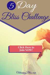 Join this 5 Day Bliss Challenge to get your personal growth journey started today! Read now! #personalgrowth #personaldevelopment #bliss #happy #happiness #selfworth #selfcare #selfdevelopment #selfgrowth
