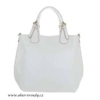 velká kabelka bílá