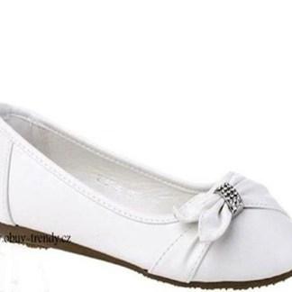 bílé baleríny dámské