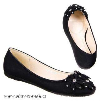černé trendy baleríny