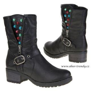 italské kotníkové boty