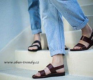 ručně šíté sandály Antef