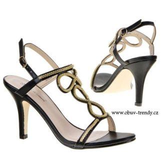 sandály na podpatku Belle Women