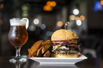 Bosscat Kitchen & Libations | Burger with Fries