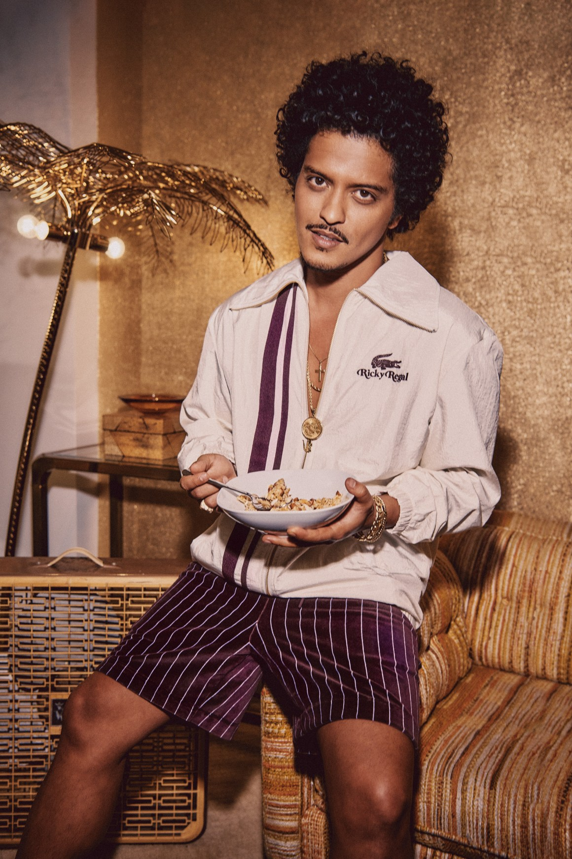 Bruno Mars reveals his first collaboration with the launch of Ricky Regal x Lacoste.
