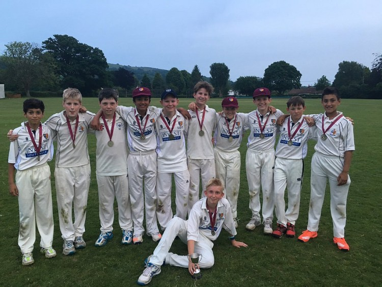 A youth side winning some more medals