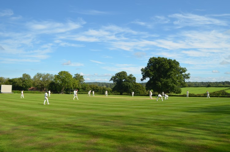 The scene at Failand & Portbury as our 4th XI take on their 2nd XI - 01/08/2020