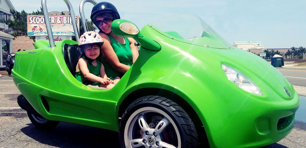 Outer Banks Green Scoot Coupe