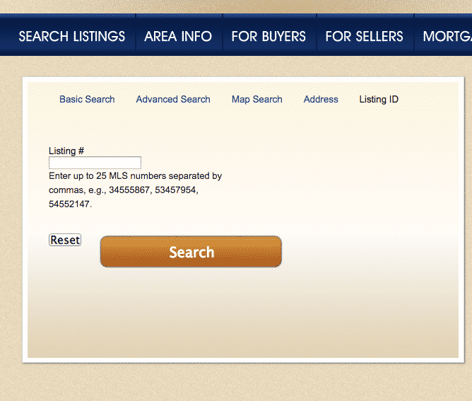 Search OBX Listings by MLS# ⋆ OBX Listings