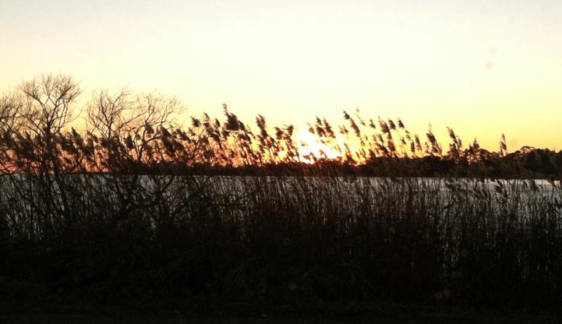 Kitty Hawk Bay in Fall