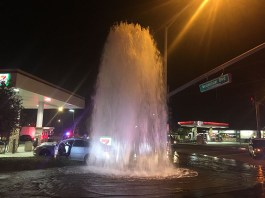 Early morning SB shoe store theft ends with hydrant crash, three wet arrests