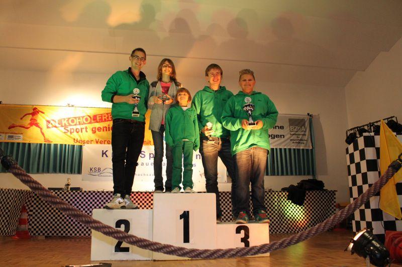 Siegerehrung Sauerlandpokal 2013