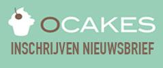 Inschrijven nieuwsbrief O'Cakes