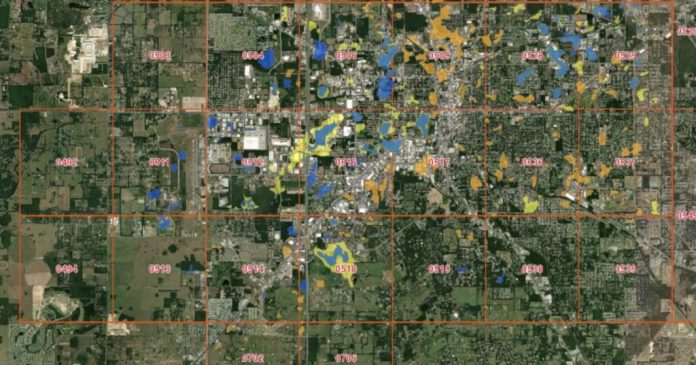 Ocala Flood Map