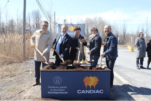 博大集团Candiac TOD火车站项目奠基