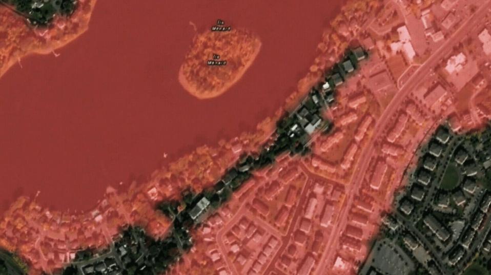 不满被划入洪泛区  西岛许多城市要求删除