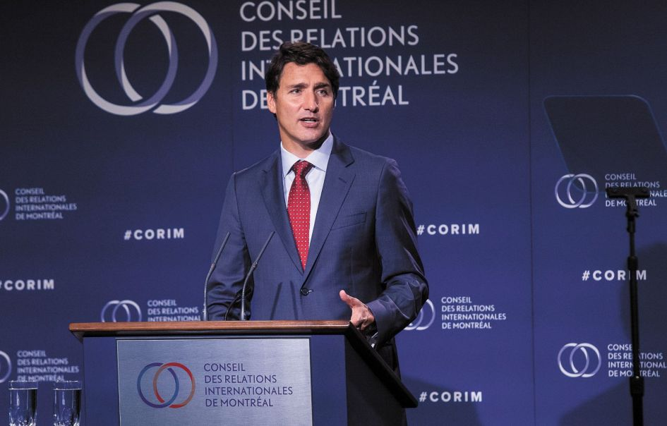 Image result for justin trudeau 22 aout montreal