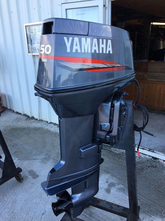 Moteur Yamaha 50cv 2temps Arbre Long Occasion Accastillage
