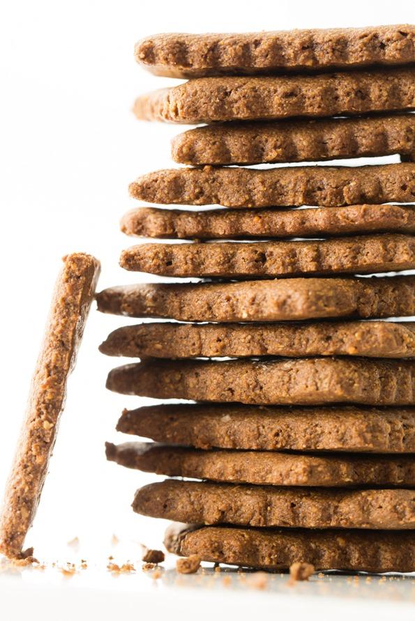 Gluten-Free and Vegan Graham Crackers
