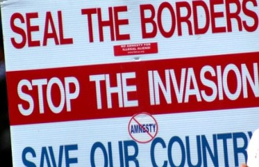 anti-immigrationsign