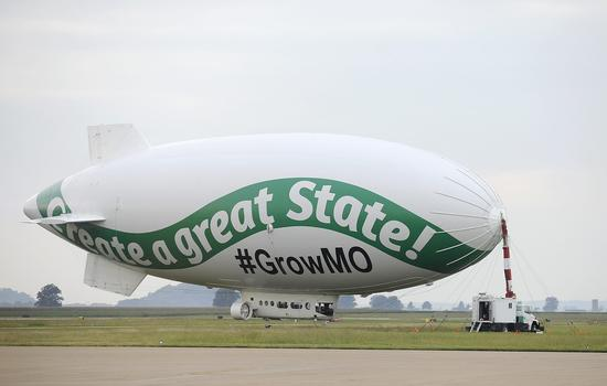 The billionaire's blimp