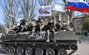Ukrainian troops surrender to rebels