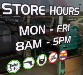 store no gays