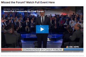 commander-in-chief-forum