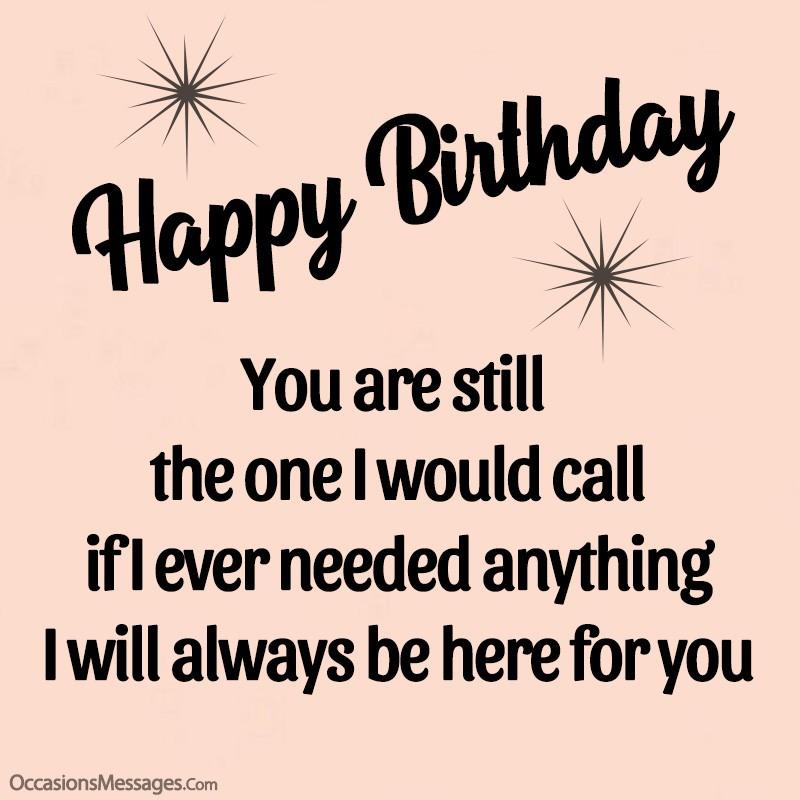 Best Birthday Wishes And Messages For Ex Boyfriend