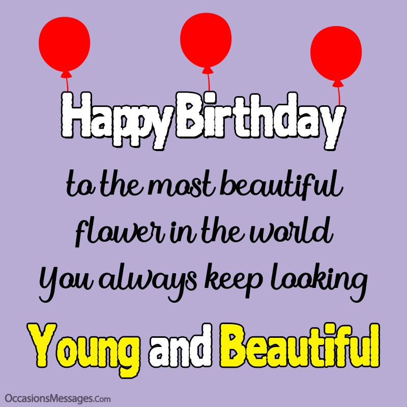 Happy Birthday Wishes For A Woman Best Messages For Her