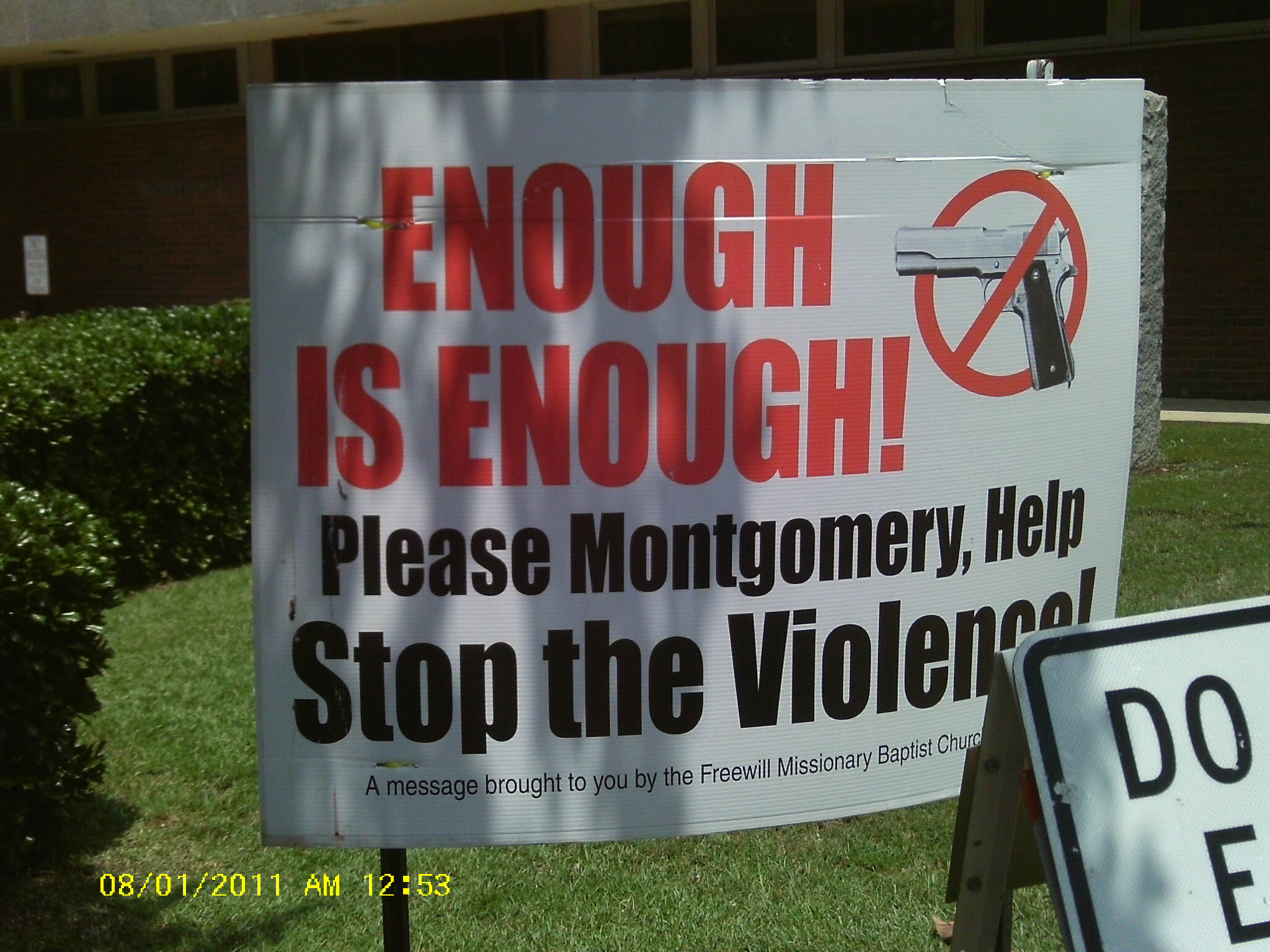 """Violent extremists"" are operating in Montgomery"