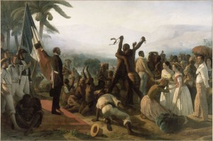 France abolishes slavery on February 4, 1794