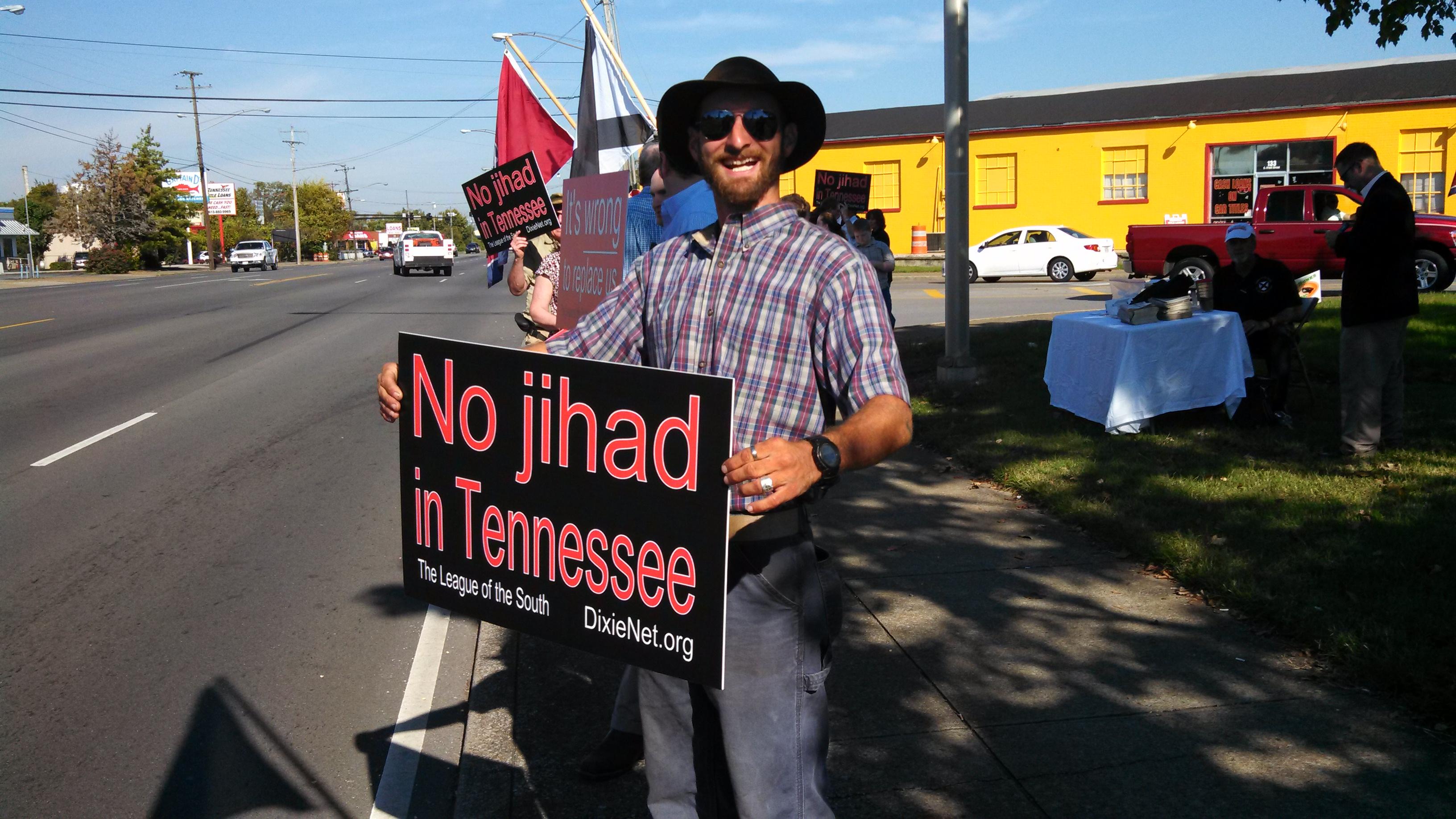 Murfreesboro Protest