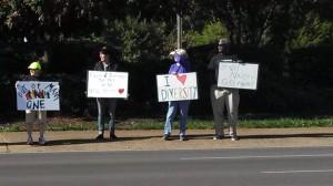 Murfreesboro counter protesters