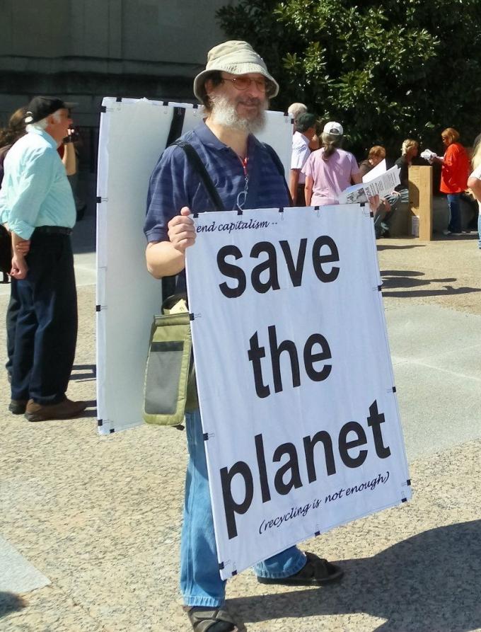 Eric Schechter, eco-anarcho-zen-commie
