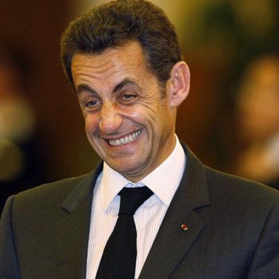 False French Nationalist Nicolas Sarkozy