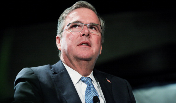 Former Florida Gov. Jeb Bush Speaks To Long Island Association Event