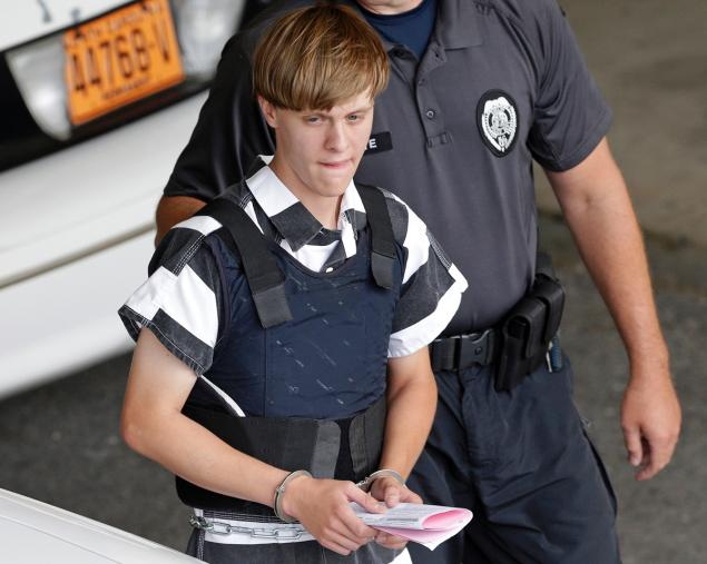 Charleston shooter, Dylann Roof