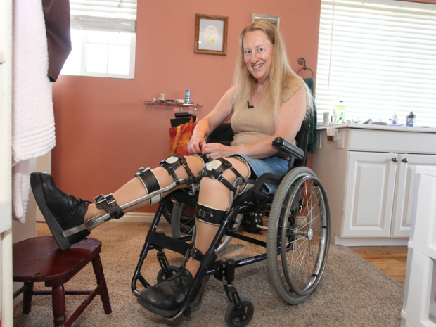 Chloe Jennings had a persistent fantasy of being paralyzed