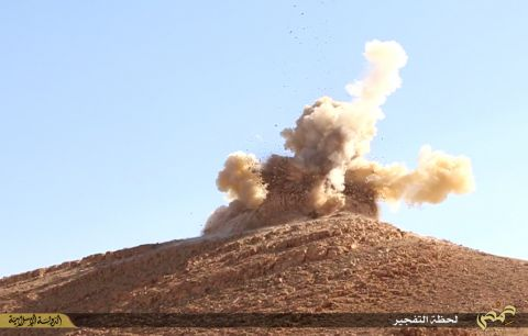 ISIS is blowing up ancient landmarks in Syria