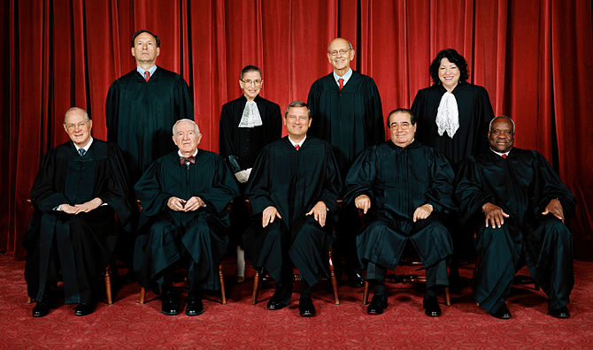 "US Supreme Court upholds ""disparate impact"" standard of discrimination"