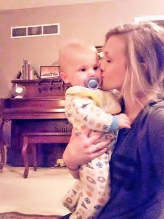 Kelsey and her 1 -year-old son (Image Courtesy of Facebook)