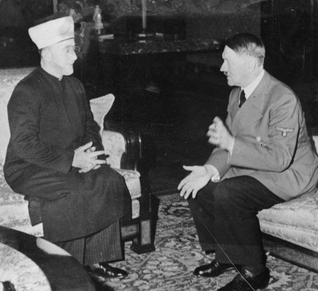 Amin al Husseini und Adolf Hitler