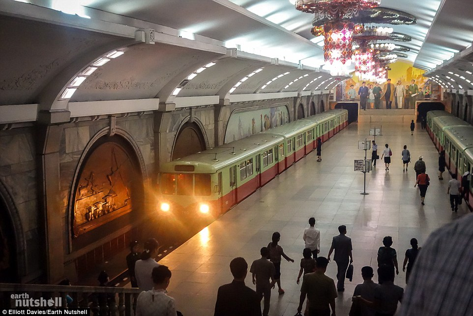 Pyongyang Train Station