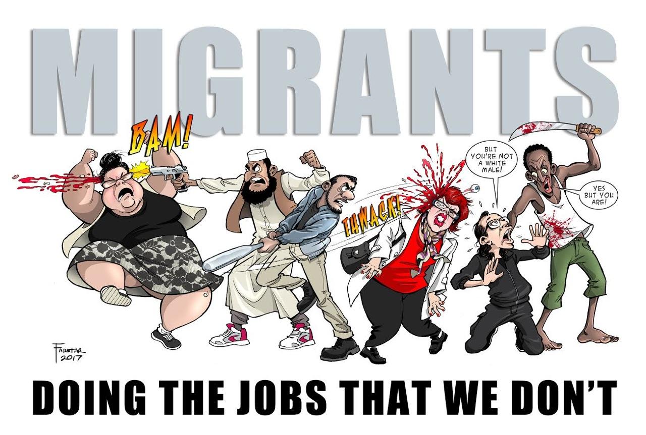 Farstar – Migrants Doing the Jobs…..