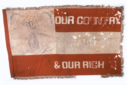 Pike_Guards_flag_captured_at_Camden,_1864