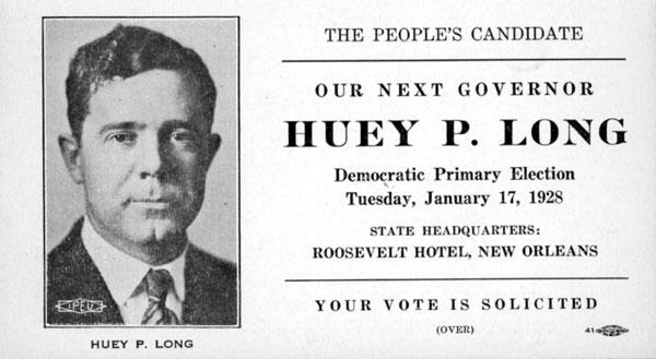 Huey Long flyer