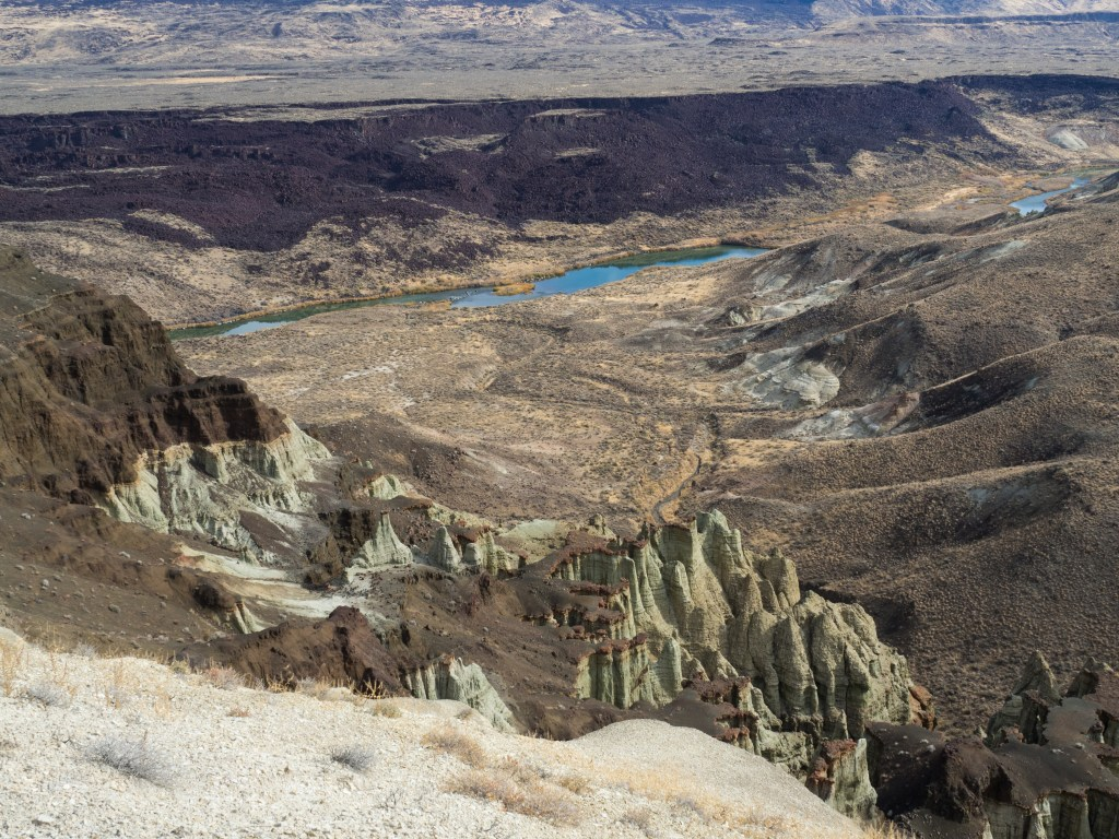 Chalk Basin, Owyhee River