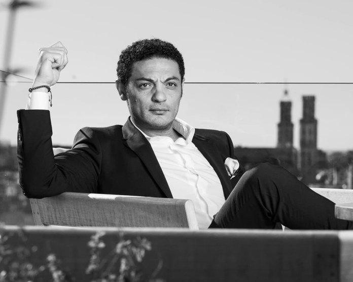 El actor y contratista egipcio Mohamed Alí